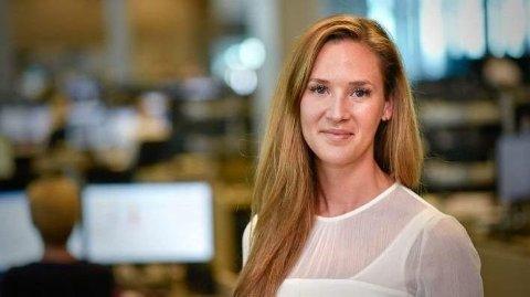SLAPP AV: Det blir trolig ingen renteøkninger fra Norges Bank de nærmeste tre årene, spår økonom Jeanette Strøm Fjære i DNB Markets. Foto: Stig B. Fiksdal (DNB)