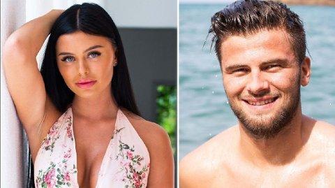 SAMMEN: Sofie Karlstad og Mario Riera offentliggjorde torsdag at de er et par.