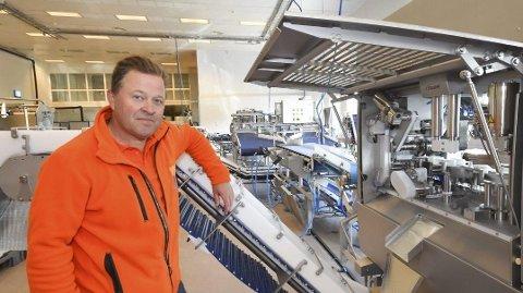 NEDTUR: Arne Hjeltnes tapte sparepengene sine på fiskeeventyr. Foto: Alf Helge Jensen