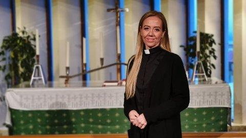 NY PREST I HARSTAD: Kapellan Henriette Steen kommer fra flere jobber i Forsvaret. I Harstad skal hun blant annet jobbe med de unge.