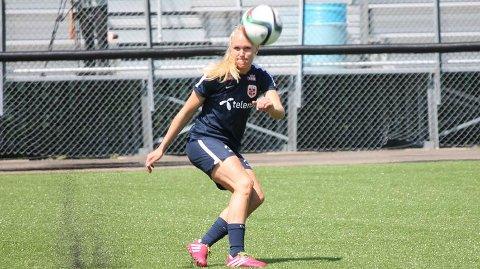 MERSMAK: Maria Thorisdottir gjorde et bra mesterskap for Norge i Canada, og ser fram til å få flere a-landslagskamper.