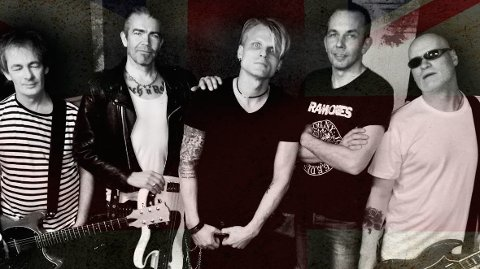 Tribute-bandet «The filth and the fury» holder konsert på Ambolten på Kvernaland.