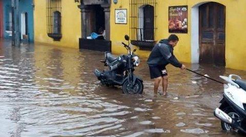 - Me er mest urolege for luftvegsinfeksjonar og magetrøbbel som barn kan pådra seg på grunn av ureint vatn og luft, seier Ida Jaarvik Hetland, leiar for Idas Hjelpefond i Guatemala.
