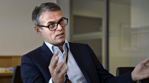 En stor dag: Administrerende direktør for FMC Technologies, Rune Thoresen, er svært fornøyd med kontrakten som ble signert fredag. Denne vil i følge Thoresen sikre arbeidsplasser i fremtiden.