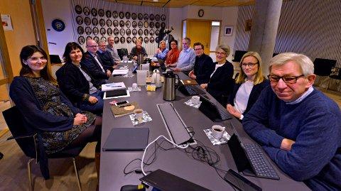 ENIGHET: Formannskapet i Kongsberg har støttet rådmannens budsjettforslag. Når er det opp til kommunestyre å fastsette rammene for 2020.