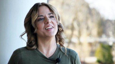 KOMMER: Tania von der Lippe Michelet er en norsk skjønnlitterær forfatter. Hun ble døpt i fjor og kommer til Glogerfestspillene i januar.