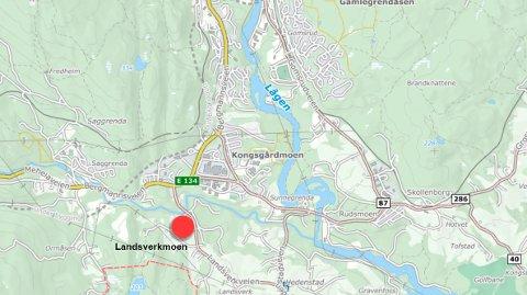 OMRÅDET: Her ønsker Johansen trafikkskole å etablere opplæringsområde for snøscooter og ATV-kjøretøyer.