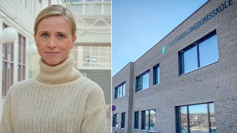 UTFORDRING: Kongsbergs kommuneoverlege Ane Kvamme mener det økende antallet med smittede blant barn og unge er en stor utfordring for smittesporerne.