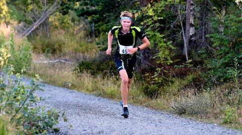 SUVEREN: O-løper Andreas Myrvold Skovlyst var i en klasse for seg i motbakkeløpet Korset Opp og satte ny løyperekord. ALLE FOTO: OLE JOHN HOSTVEDT