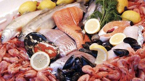 SJØMAT: 196.000 tonn sjømat ble eksportert i februar