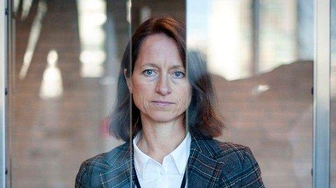 TOPPER SEG I SALGSUKA: - Svindelforsøkene dreier seg ofte om beløp under 5000 kroner, og omfanget beløper seg til noen millioner kroner, sier Berit Børset, direktør for it-sikkerhet i DNB.