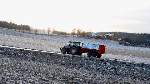 TIL JORD IGJEN: Delijordet skal forbli landbruksareal, har Vestby kommune bestemt.
