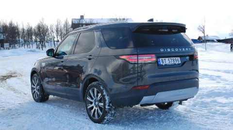 Land Rover Discovery er populær som varebil.