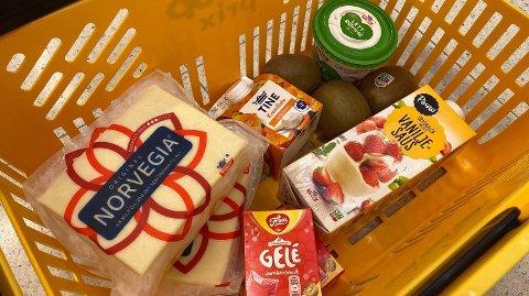 PRISVARIASJONER: Skal du kose deg med god mat i sommer, bør du få med deg hvilke av disse varene som har gått opp i pris og ned i pris.