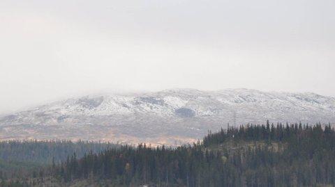 LIERNE: Selv med et lite opphold i nedbøren mandag og tirsdag, vil sludd og snø komme tilbake utover uka. Det er dermed på høy tid å bytte til vinterdekk.
