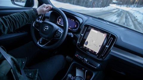 Elektriske XC40 er en viktig bidragsyter til at Volvo-salget i Norge nå er rekordhøyt.