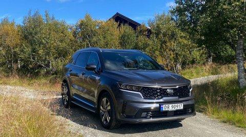 STOR SUV: USA er et av de største markedene for Kia Sorento. Men den trives godt i Norge også.