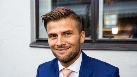 Flyttet til Trondheim og TV-aktuell: Mario Riera er med i høstens sesong av 71 grader nord på TV. Han har også flyttet til Trondheim for å studere.