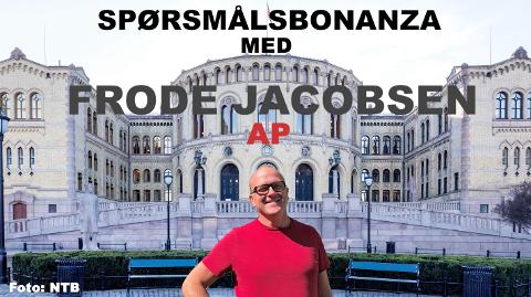 """Frode Jacobsen klarte 16 spørsmål i vår """"spørsmålsbonanza"""". Foto: NTB og Kaja Stoltenberg"""