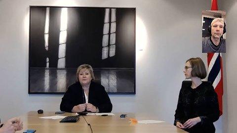 VIDEOKONFERANSE: Erna Solberg og Iselin Nybø forteller om sine  planer i dette Nordlys-intervjuet.