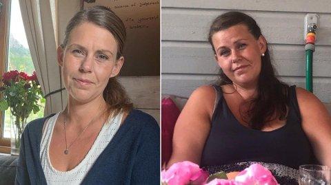 FØR OG ETTER: Jeanette gikk ned over 40 kilo på under et år etter at hun bestemte seg for å droppe sukker og mel fra kostholdet.