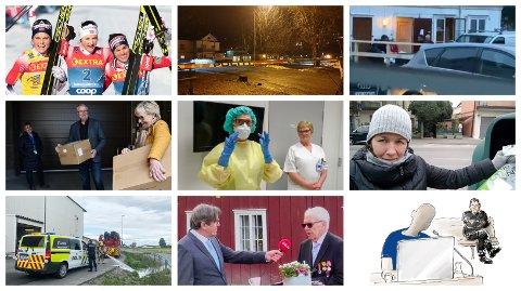 SPESIELL VÅR:  Våren 2020 ble ikke som andre halvår. Til tross for at året startet med jubel i skiløypa for Ingvild Flugstad Østberg, skjedde både drap, pandemier og det som verre var. 17. mai ble dessuten svært spesielll.