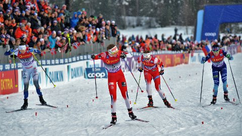 Mathilde Skjærdalen Myhrvold imponerte stort i kvartfinalen.