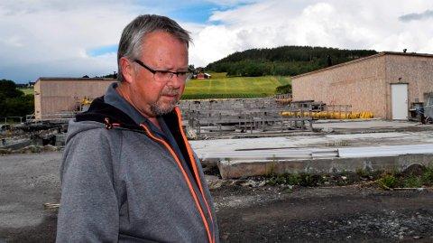 PROSJEKTLEDER: - Det nye renseanlegget blir dyrere, men også mye bedre, enn det som var under utbygging da det brant, sier prosjektleder Kåre Ravnsborg..