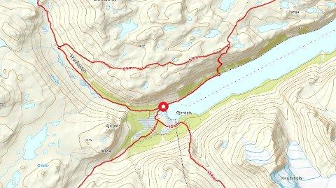 Gjendebu ligger langt inn i Jotunheimen i Lom kommune. Bukkelægeret er stien som går ned til Gjendevatnet mellom Gjendebu og Memurubu.