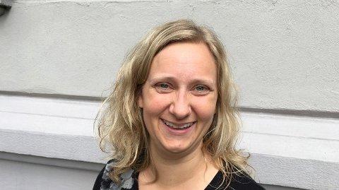 PÅ PLASS: Kristine Thorstvedt er klar for jobben som ny kirkeverge i Ås.