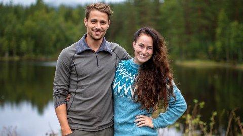 KJÆRESTERYKTER: Det har versert rykter både inne og utenfor «Farmen»-gården at Daniel Viem Årdal og Karianne Kopperstad har et romantisk forhold til hverandre.