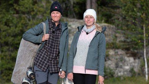 SKUFFET: Tove Moss Lohne er skuffet over at venninnen Inger Cecilie Grønnerød ikke fortalt henne sannheten om foten før andrekjempevalget. Foto: TV 2