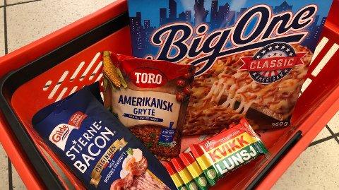RIMELIG: Disse matvarene er ukens beste kjøp.  Foto: Nina Lorvik (Mediehuset Nettavisen)