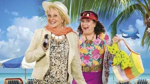 Humorduo: Suksessparet Brit Elisabeth Haagensli og Anne Marie Ottersen kjenner de aller fleste fra mange morsomme øyeblikk på tv og scene.