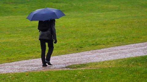 VÆRET SNUR: Meteorologene varsler at været nå vil snu. Foto: Vegard Grøtt / NTB scanpix
