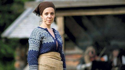 HOVEDROLLEN: Produsent Hilde Drevsjømoen har selv hovedrollen i spelet om Anna i ødemarka, som for fjerde gang settes opp i Engerdal i august.  Her fra forestillingen i 2015.