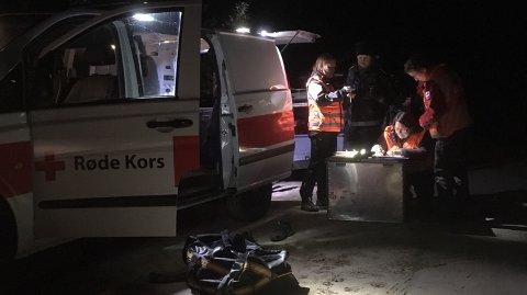 LETEAKSJON: Tirsdag kveld ble det iverksatt en større leteaksjon etter en mann i 50-åra på Koppang. Onsdag kveld ble vedkommende funnet - i god behold.