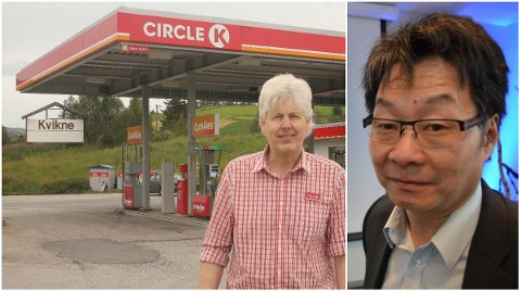 NYTT LIV: Cirkle K langs rv. 3 i Kvikne har vært stengt siden Torgeir Svergja (til venstre) avsluttet driften i fjor høst. I mars åpnes dørene igjen av Terje Hylen (til høyre) og Vidar Olsbakk.