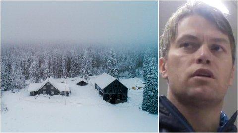 HAR HATT MISTANKE: Broren til Janne Jemtland, Terje Opheim, sier til TV 2 at familien har hatt mistanke om at blodsporene som ble funnet i snøen på to forskjellige steder i Brumunddal var plantet. Til venstre: Huset i Brumunddal hvor politiet mener at Janne Jemtland ble drept. (Foto: Tore Meek / NTB scanpix)