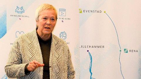 VIKTIG SATSING: Rektor Kathrine Skretting ved Høgskolen i Innlandet sier satsingen på doktorgradene er svært viktig med tanke på en ny universitetssøknad.