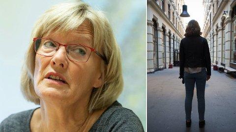 REAGERER: SVs Karin Andersen mener det er alt for lett for bankene å låne ut penger. Foto: Paul Weaver / Nettavisen