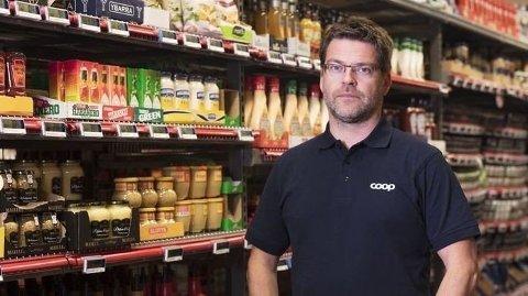 Kommunikasjonssjef Harald Kristiansen i Coop.