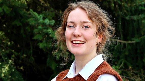 STIPENDVINNER: Sofia Ryan Sondresen har fått startkapital for ferden mot en bachelor og en karriere som trapesartist.
