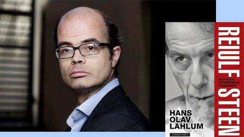 KOMMER: Hans Olav Lahlum kommer til Langesund torsdag.