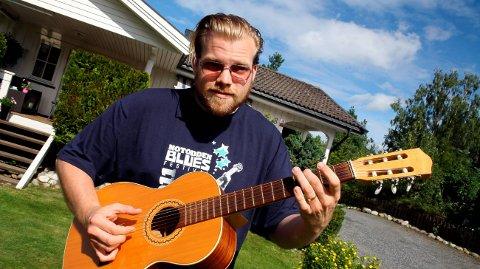 FRA HERRE: Kid Andersen er nominert til Blues Music Awards.
