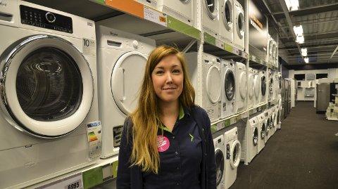 Ble i Norge: Emmy Karlsson fra Storuman fulgte kjærligheten og har jobbet på Mo siden 2008.