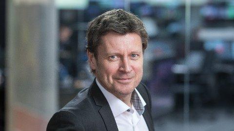 LEGGER NED: TV 2 humor legges ned fra og med 1. januar 2020, meddeler kanaldirektør Trygve Rønningen i TV 2. Foto: Eivind Senneset / Tv 2 (TV 2)