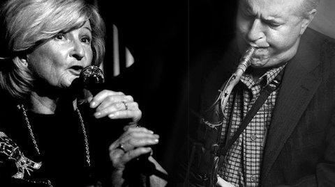Karin Krog og Scott Hamilton kommer til Ringerike kultursenter 24. mars.