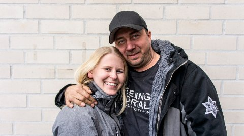 Kjendiser: Kristian og Monica i Norske rednecks. blir fulgt av flere hundre tusen seere.