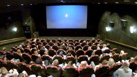FRISKMELDT: Ullensaker kino er friskmeldt etter fredagens røykutvikling.
